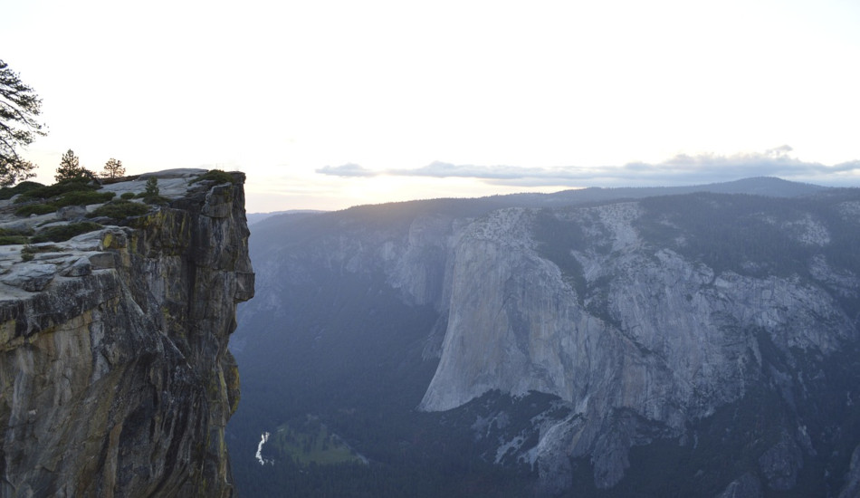 A cliff in Yosemite Valley.