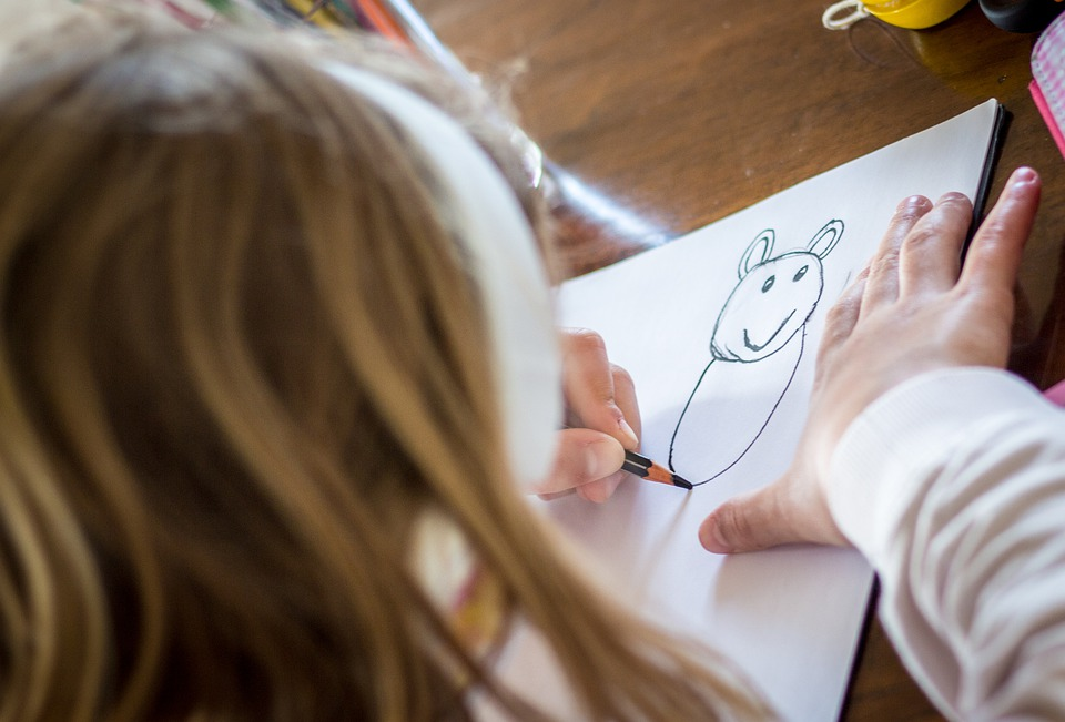 """The quality of teacher-student interaction has been found to be important in terms of many different academic and socio-emotional outcomes. (Image: via <a href="""" https://pixabay.com/photos/draw-child-doodles-little-girl-5624283/""""><figcaption id="""