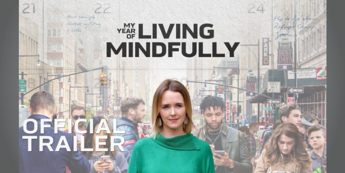 Shannon Harvey as seen in the promotional materials for 'My Year of Living Mindfully'