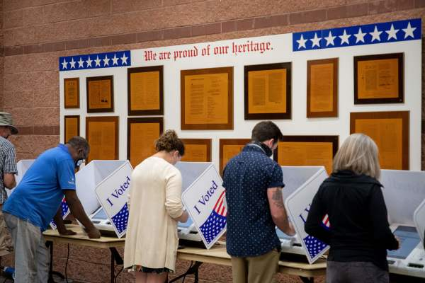 US citizens voting, 2020 Elections