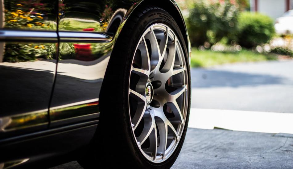 A car's tire.