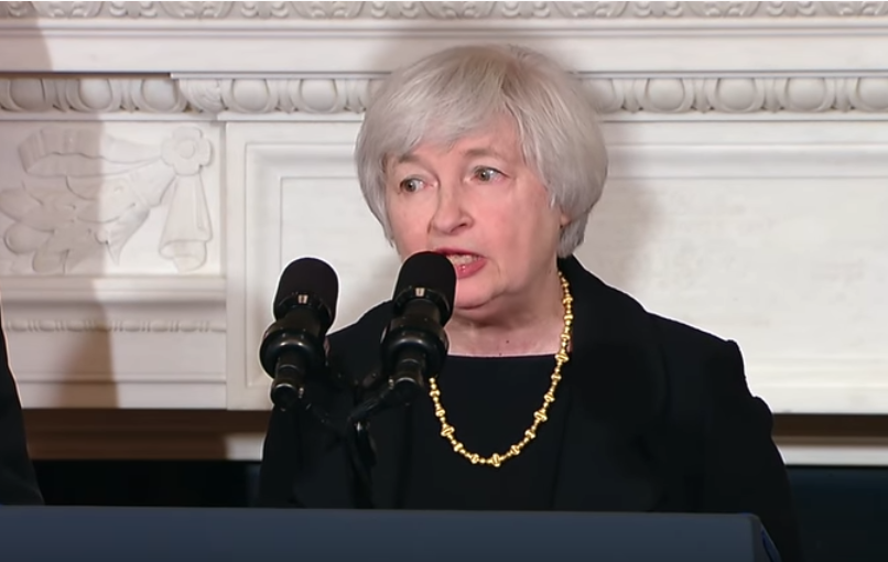 President Obama nominates Dr. Janet Yellen to succeed Ben Bernanke as Chair of the Board of Governors of the Federal Reserve. Dr. Yellen has served in leadership positions at the Fed for more than a decade, including the last three years as Vice Chair. She also served previously as the Chair of the Council of Economic Advisers, and was a leading researcher in monetary economics at Harvard and Berkely. She has been tapped to serve as Treasury secretary by Joe Biden.