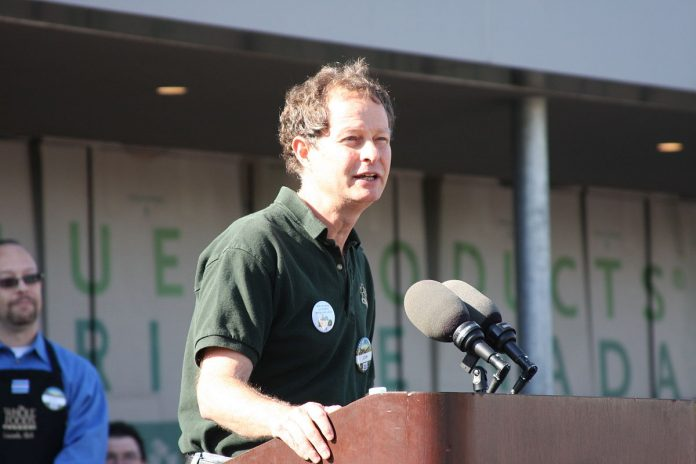 John Mackey CEO of Whole Food speaks out against Socialism Image:Wikipedia