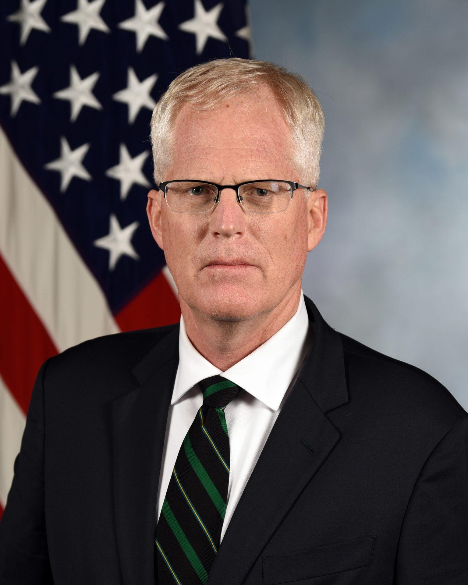 Acting Secretary of Defense Christopher C. Miller, official portrait. (Image: Department of Defense)