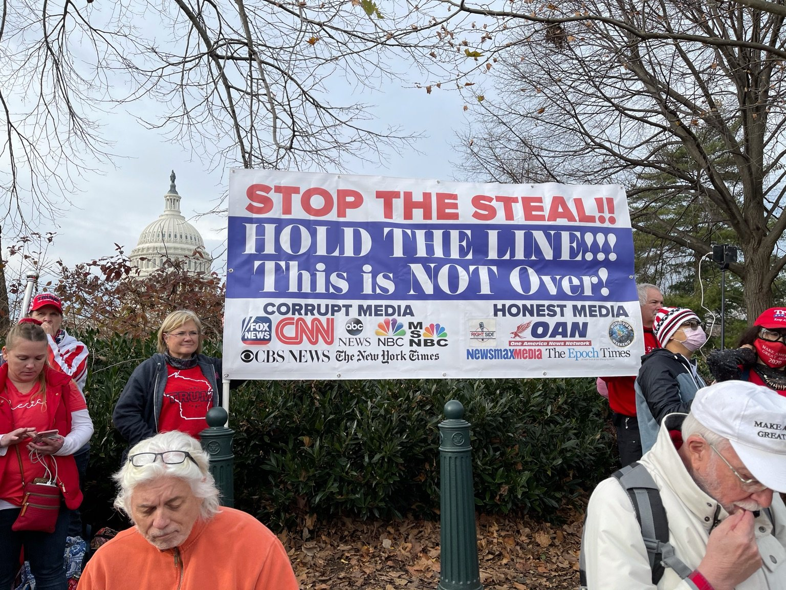 Stop the steal rally