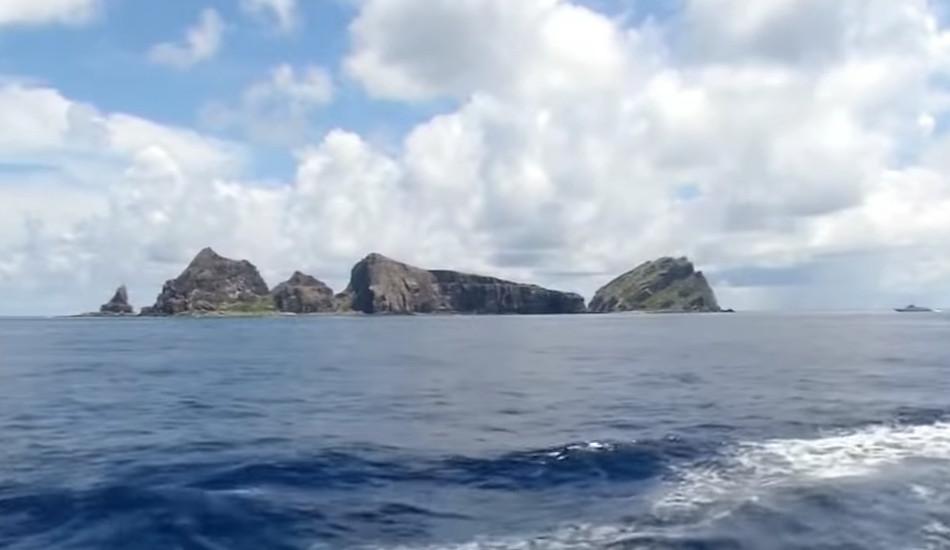 The Senkaku Islands.