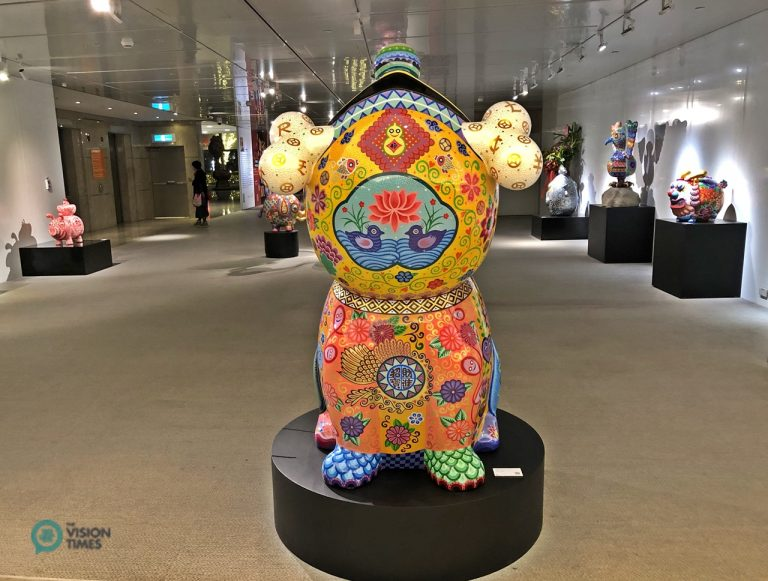 Hung Yi's solo exhibition at the Taipei 101 in Taiwan.