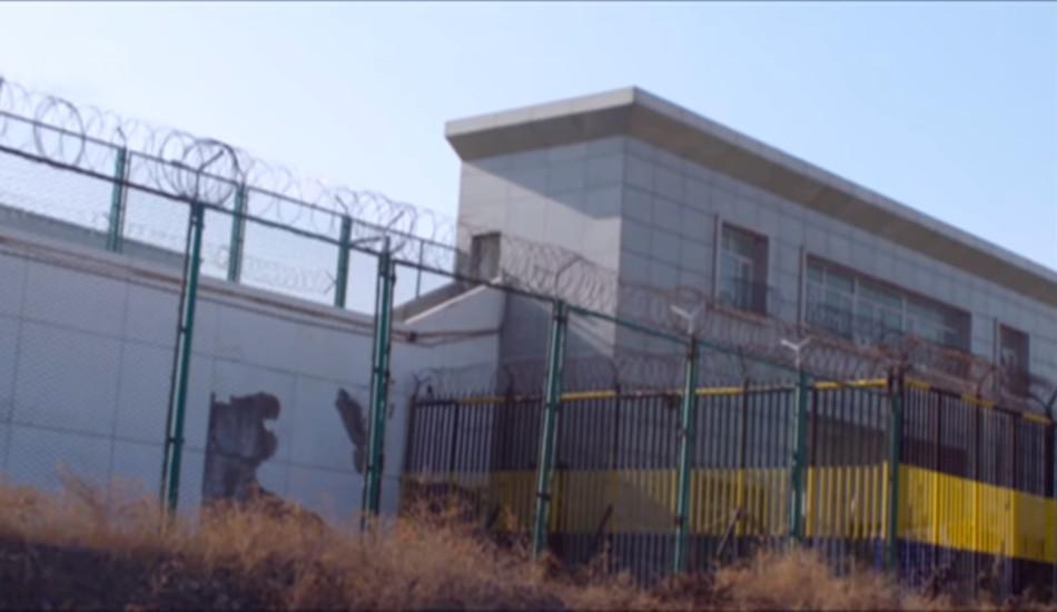 Internment facility, Xinjiang, China.