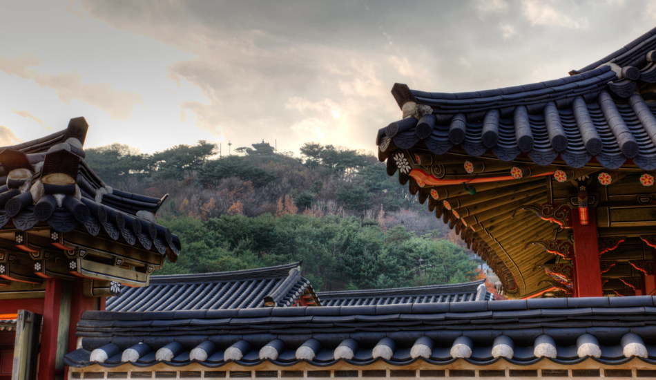 A palace in Korea dating back to the Joseon Dynasty.