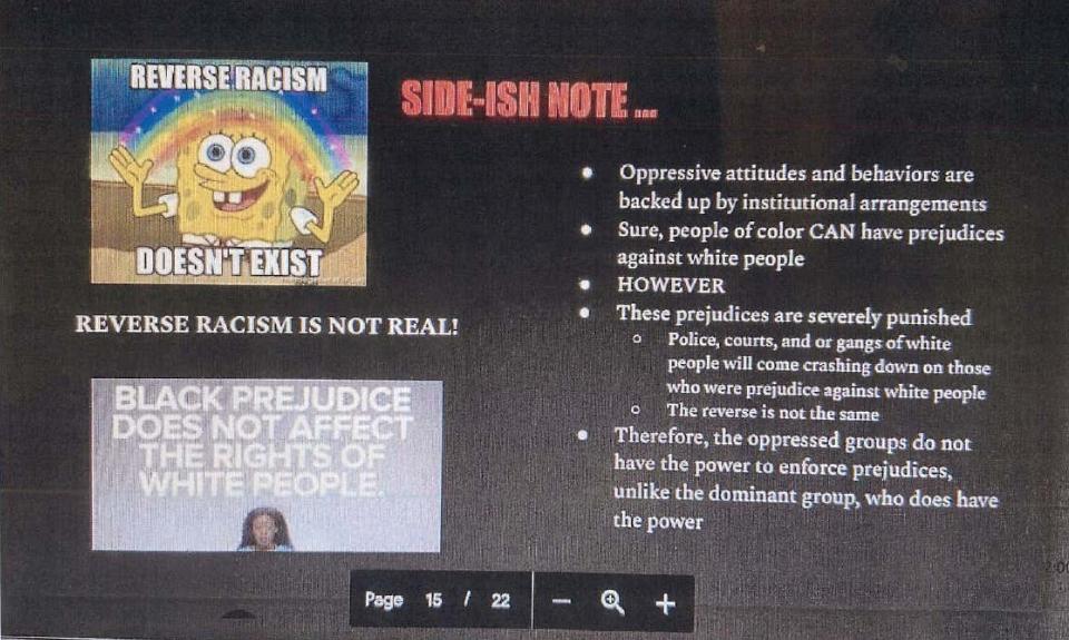 evidence of leftist indoctrination