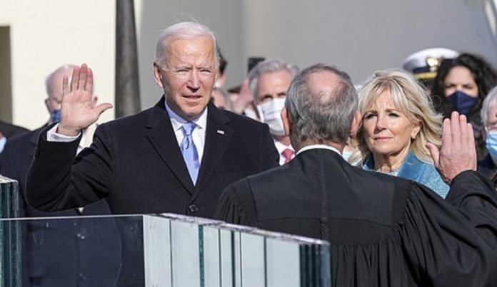 On Jan. 20, Joe Biden took the oath to become the 46th President of the United States.