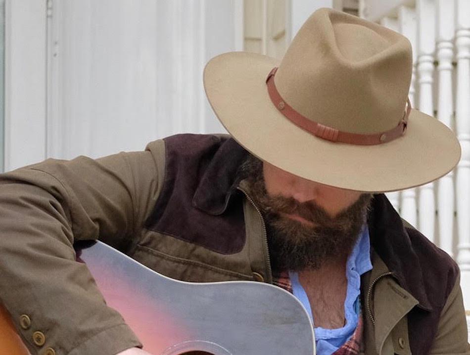 James White playing guitar.