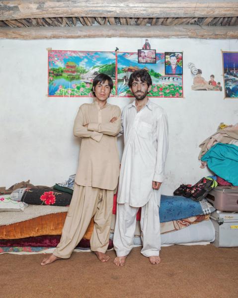 Gemstone hunters Mohammed Yusuf and Zaman Dupta in Ned, Pakistan.
