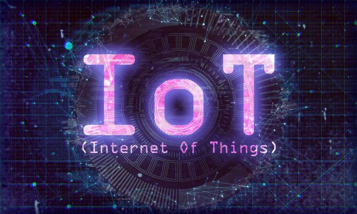 A graphic depicting the Internet of Things (IoT).