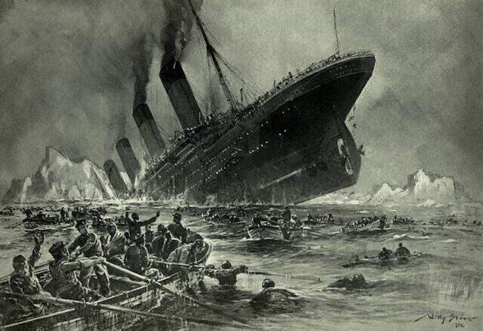 America, the Titanic is Sinking Take Warning.