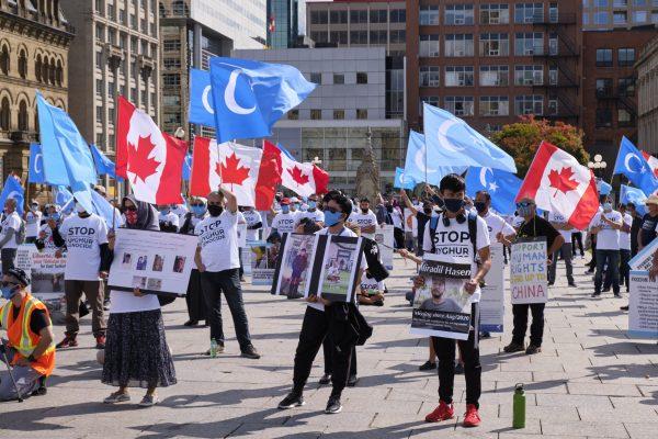 Beijing's influence in Canada through propaganda.