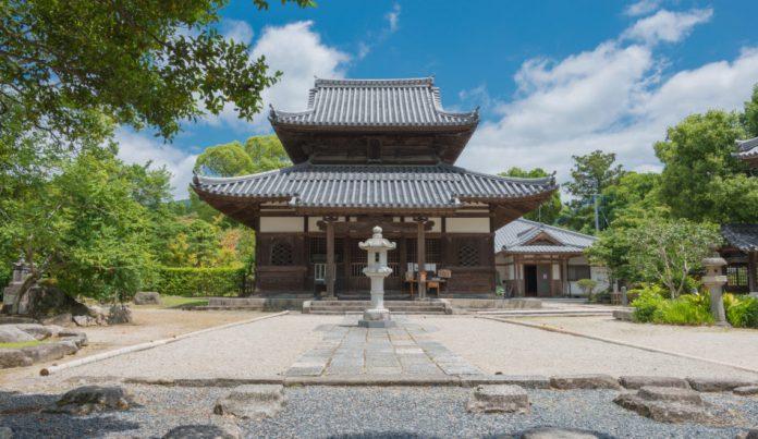 Kaidan-in Temple, Fukuoka, Japan.