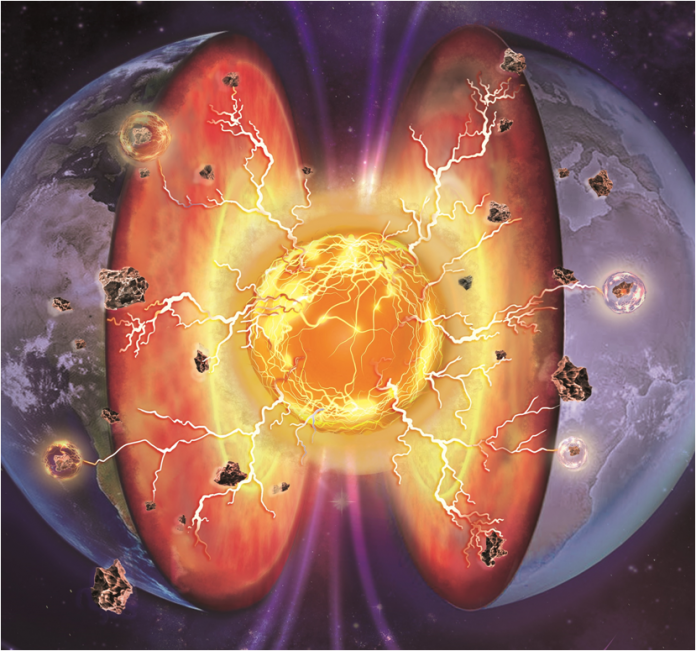 Earth's deep mantle might be electrified by superionic minerals.