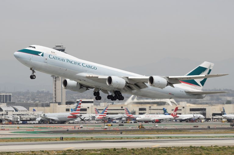 Cathay Pacific Cargo 747