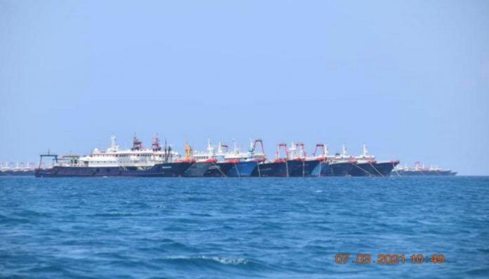 Chinese fishing fleet