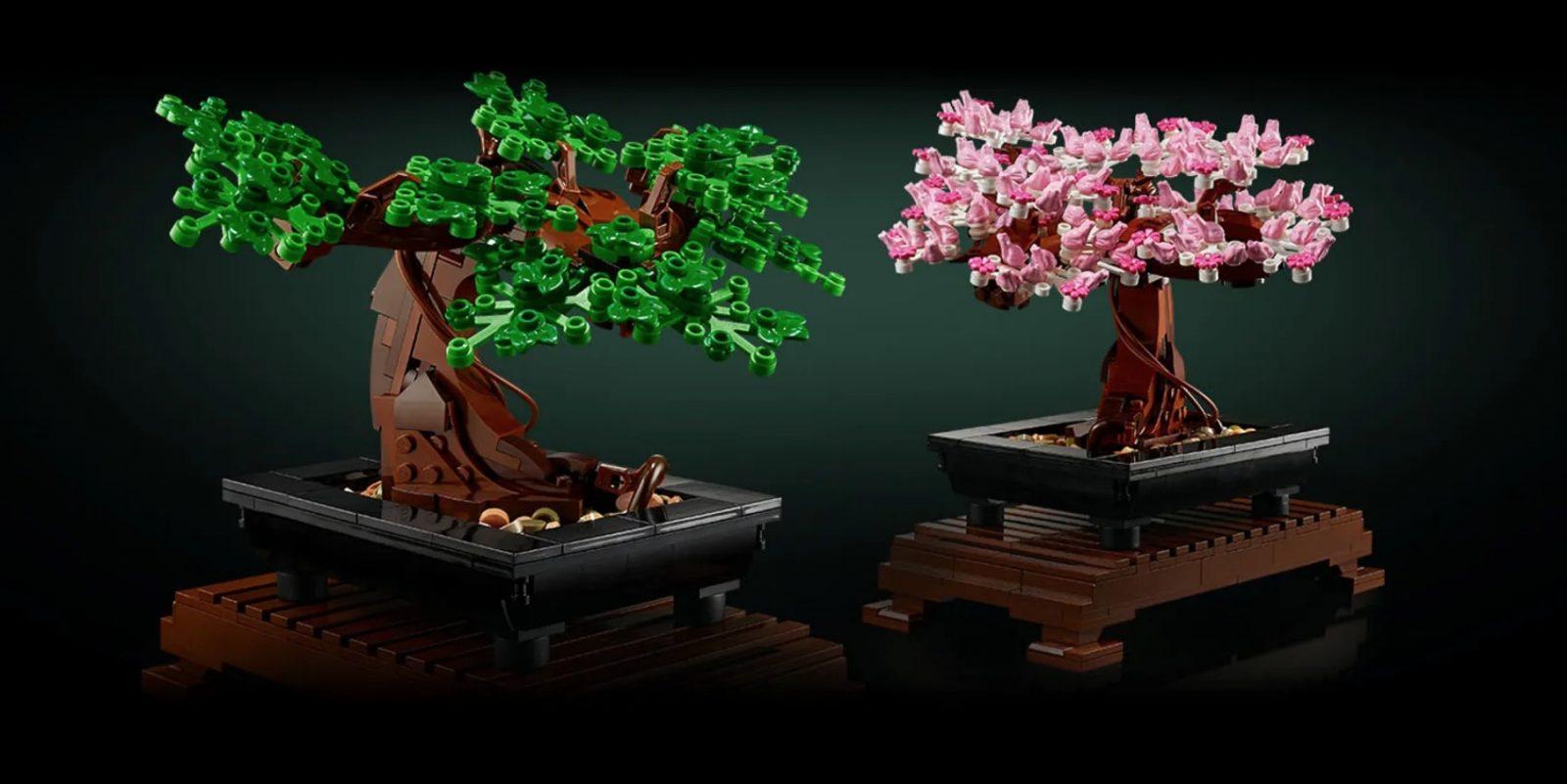 Lego Bonsi Trees
