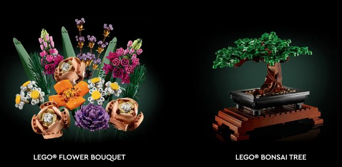 The new LEGO Botanical Collection