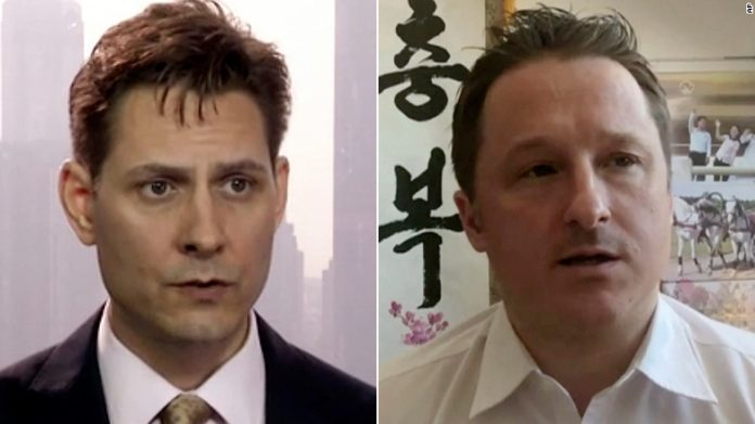 Michael Spavor and Michael Kovrig