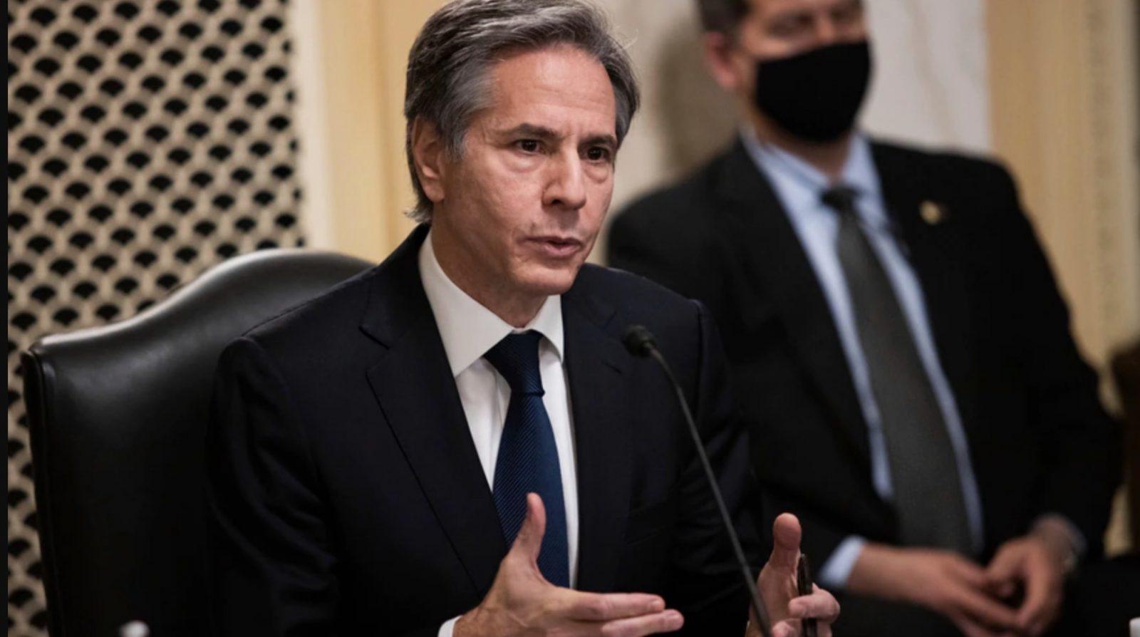 US Secretary of State Blinken