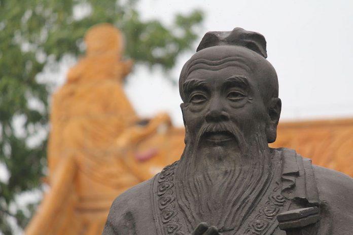 statue of Conficius