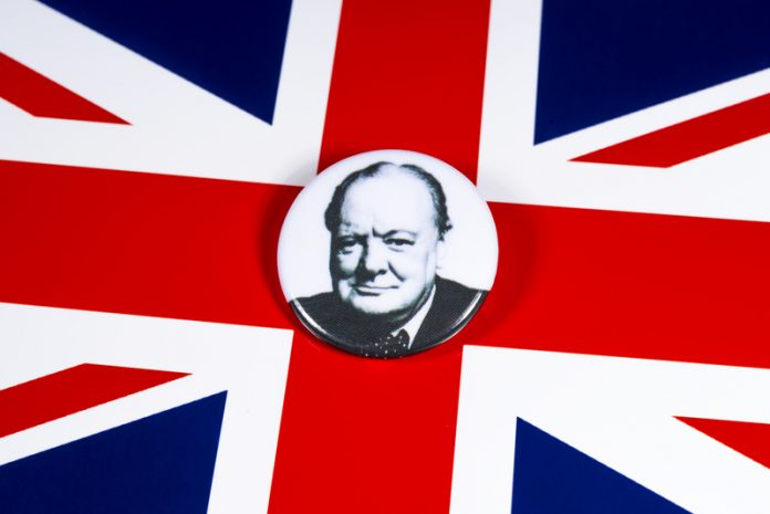 British people voted Sir Winston Churchill the number one British figure in history.