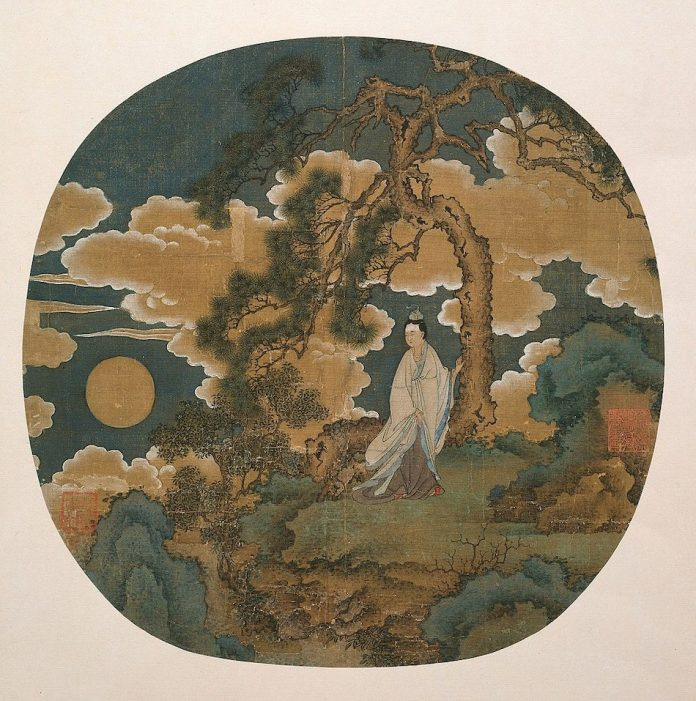 Cheng'e, the Moon Goddess Yuan or early Ming dynasty, c. 1350/1440