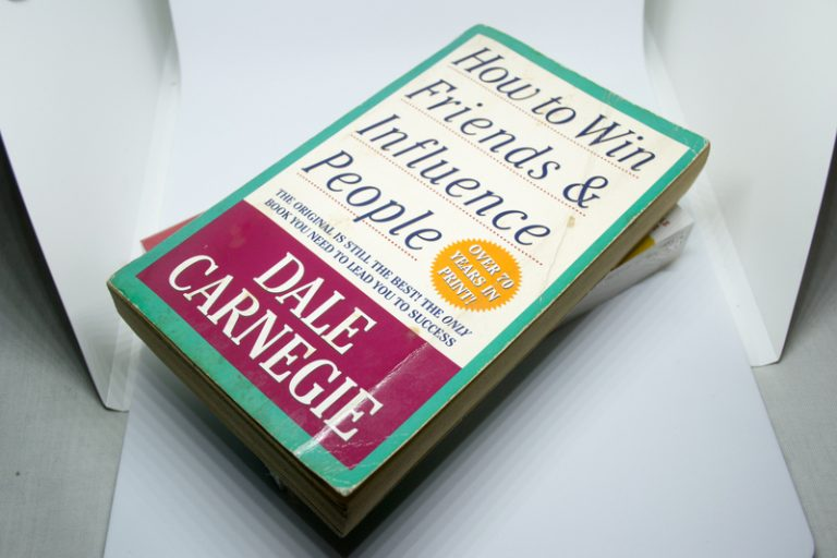 Life-changing book: How to Win Friends and Influence People by Dale Carnegie
