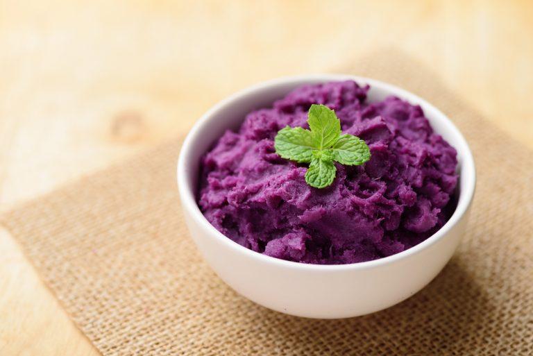 purple yam dish