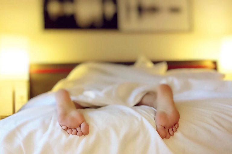 Potentially detrimental sleeping position