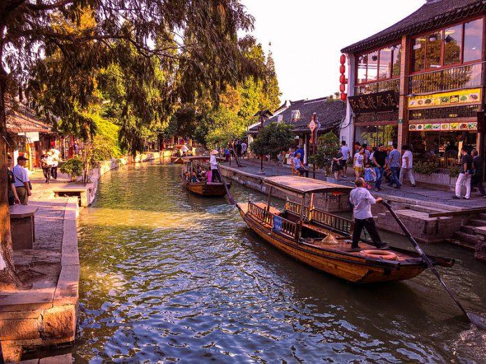 Wuzhen old city, shanghai