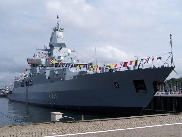 Sachsen-class frigate German Navy Deutsche Marine Bundeswehr