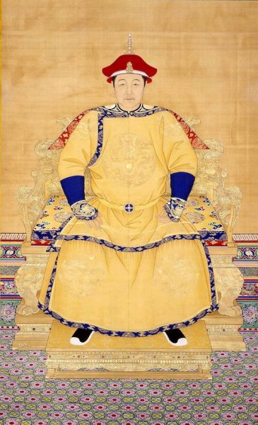 The third emperor of the Qing Dynasty, Emperor Shunzhi.