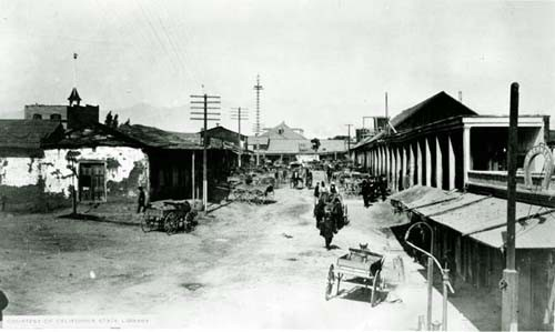 Negro Alley, where the massacre took place.