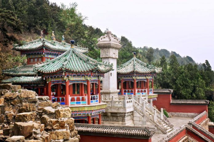 The Imperial Summer Palace, Beijing.