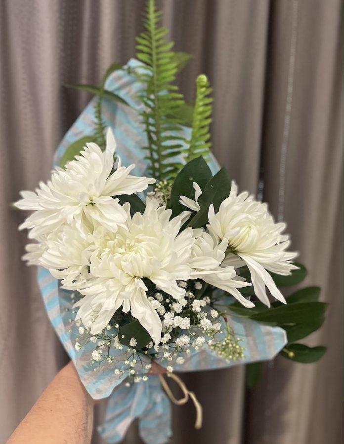 Chrysanthemum flowers bouquet