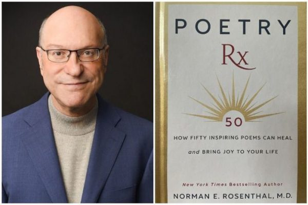 Dr. Norman Rosenthal has prescribed poetry for the mind to battle depression.