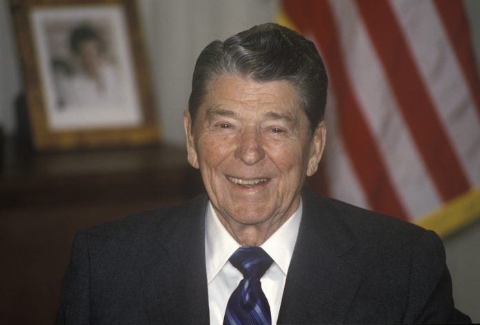 Decisive and famous - Commander-in-Chief and President Ronald Reagan.