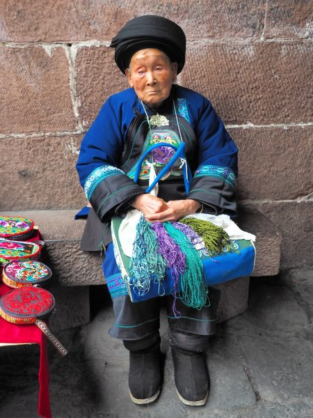 fenghuang old lady