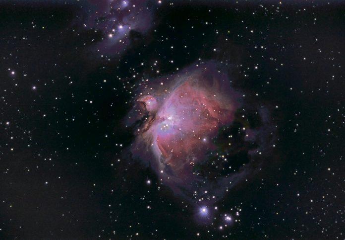 Stargazing astronomer Russell Atkin - Photo of Orion Nebula