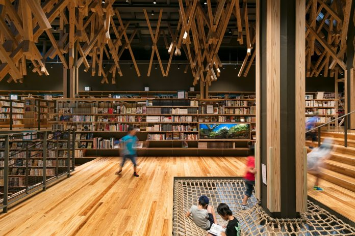 Kengo Kuma uses various kinds of locally sourced materials in his architectural projects.