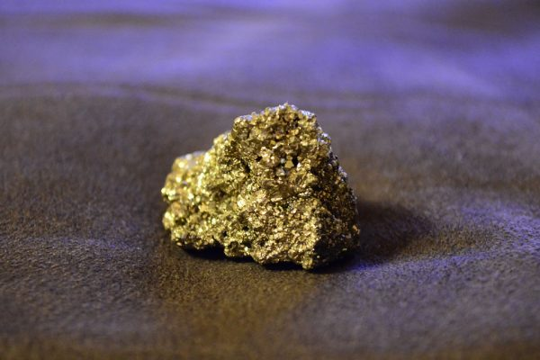 Fool's gold not so foolish.