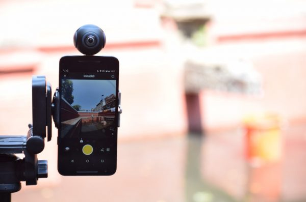 A 360-degree camera allows you to use low-budget filming techniques and still create stunning results.
