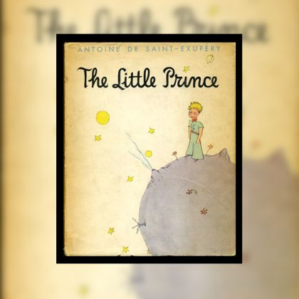 The Little Prince (Le Petit Prince) Book Cover.