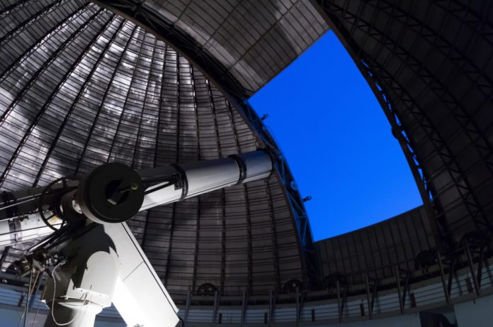 Light pollution from satellites impacts telescope observations.