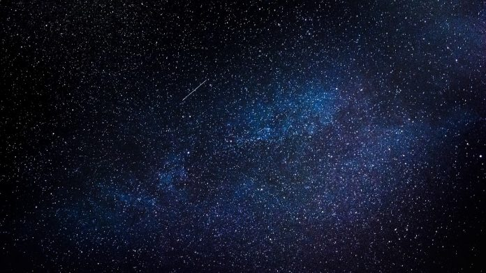 The atmospheric metal layers come originally from meteoroids blasting into Earth's atmosphere, which bring an unknown amount of material to Earth.